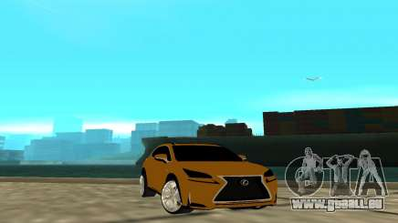 Lexus Nx 200 F-sport für GTA San Andreas