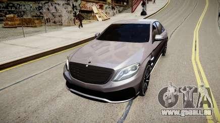 Mercedes-Benz S63 AMG W222 WALD pour GTA 4