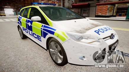 Ford Focus police UK für GTA 4