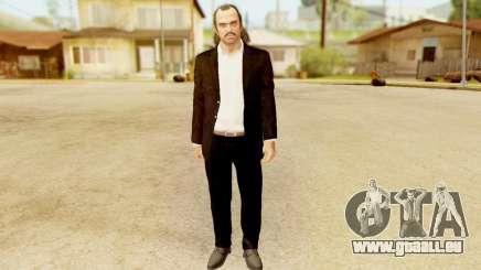 GTA 5 Trevor Prologue in Black Suit für GTA San Andreas