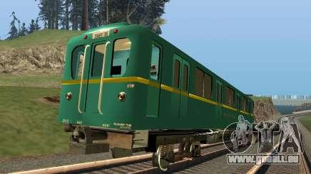 Auto-Typ-D-Spur-Aufnahme für GTA San Andreas