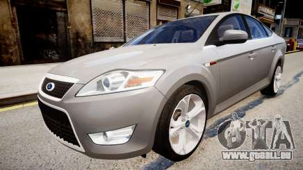 Ford Mondeo 2009 pour GTA 4