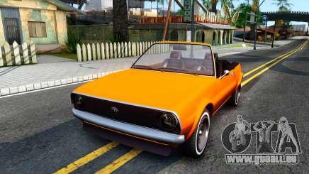 GTA V Declasse Rhapsody Cabrio Style pour GTA San Andreas