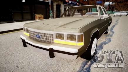 Ford LTD Crown Victoria 1989 pour GTA 4
