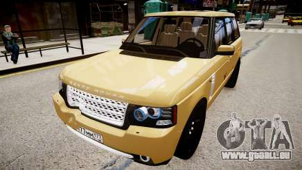 Land Rover Supercharged 2012 pour GTA 4
