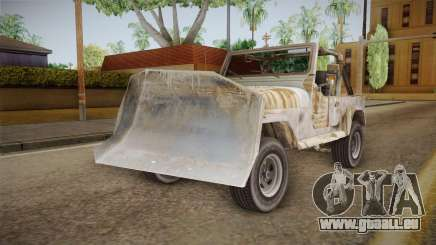 Jeep Wrangler Mad Max Style pour GTA San Andreas