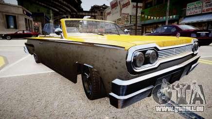 Voodoo Cabrio pour GTA 4