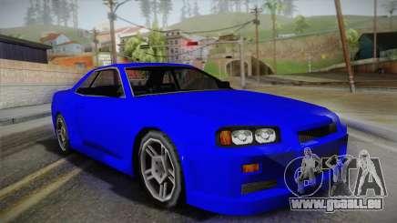 Nissan Skyline Lowpoly für GTA San Andreas