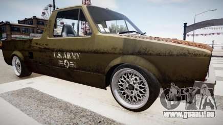 Volkswagen Caddy US Army pour GTA 4