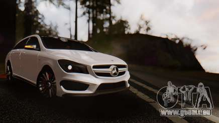 Mercedes-Benz CLA45 AMG Shooting Brakes Boss pour GTA San Andreas