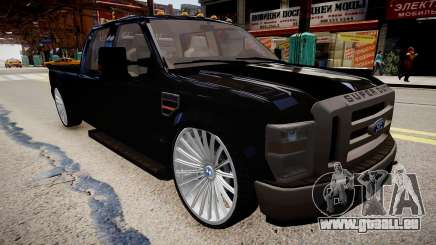 Ford F 350 Super Duty DUB 2010 pour GTA 4
