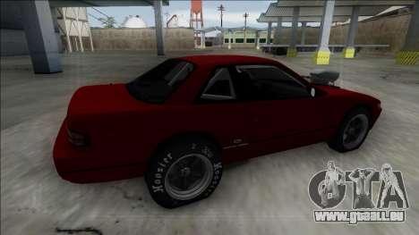 Nissan Silvia S13 Drag pour GTA San Andreas laissé vue