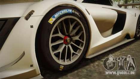 Renault Sport R.S.01 PJ2 pour GTA San Andreas vue arrière