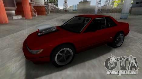 Nissan Silvia S13 Drag pour GTA San Andreas vue de droite