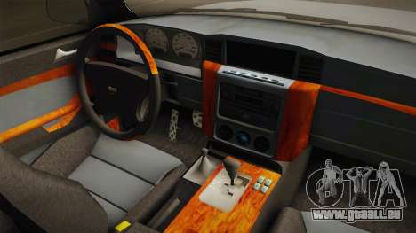 Nissan Patrol Y61 Police für GTA San Andreas Innenansicht