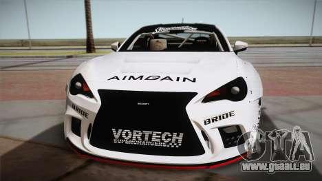 Scion FR-S Aimgain pour GTA San Andreas vue de droite