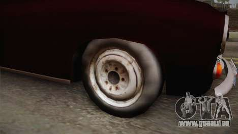 FSM Syrena 105 für GTA San Andreas Rückansicht