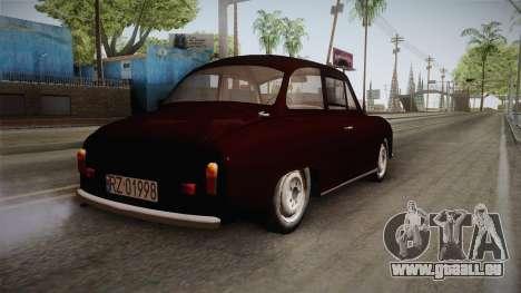 FSM Syrena 105 für GTA San Andreas rechten Ansicht