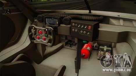 Renault Sport R.S.01 PJ2 pour GTA San Andreas vue intérieure