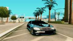 Mersedes-Benz S-class W221 pour GTA San Andreas
