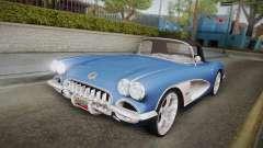 Chevrolet Corvette C1 1959 für GTA San Andreas