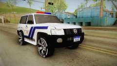 Nissan Patrol Y61 Police