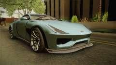 GTA 5 Dewbauchee Specter für GTA San Andreas