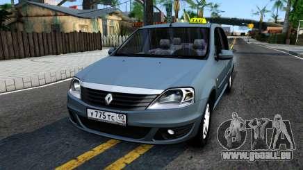 Renault Logan Taxi für GTA San Andreas