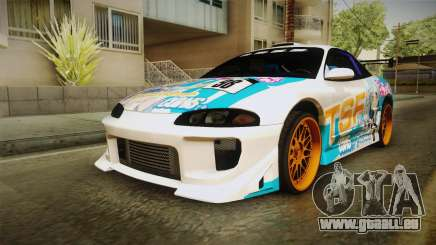Mitsubishi Eclipse Tachibana Sylphynford Itasha für GTA San Andreas