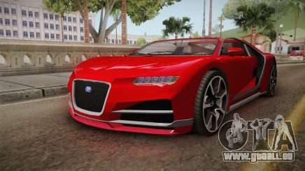 GTA 5 Truffade Nero Cabrio pour GTA San Andreas