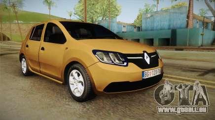 Renault Sandero 2017 für GTA San Andreas