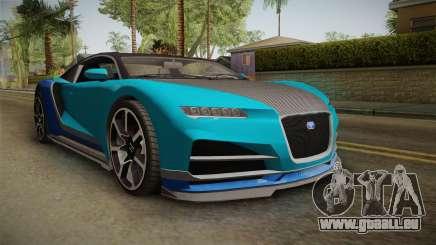 GTA 5 Truffade Nero Spyder IVF pour GTA San Andreas