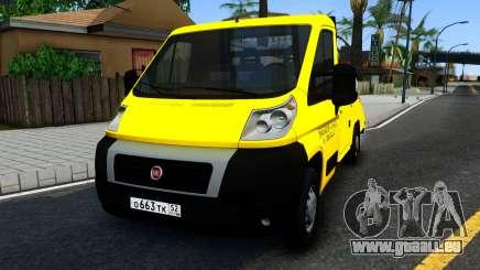 Fiat Ducato Evacuator für GTA San Andreas