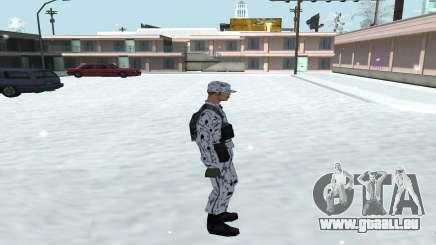 De La Peau En Hiver (Armée De Terre) 1.1 pour GTA San Andreas