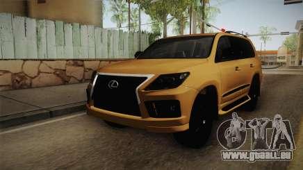 Lexus LX570 S für GTA San Andreas