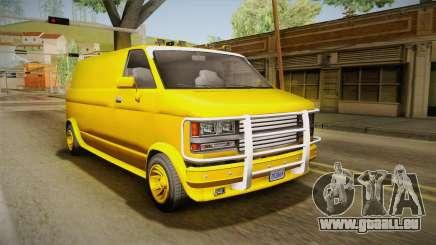 GTA 5 Declasse Burrito A-Team IVF pour GTA San Andreas
