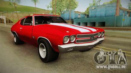 Chevrolet Chevelle SS 1970 pour GTA San Andreas