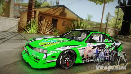 Nissan Silvia S14 Drift Speedhunters Saekano pour GTA San Andreas