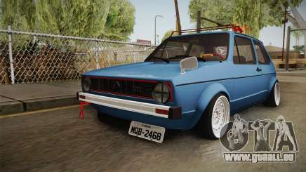 Volkswagen Golf GTI Mk1 Stance pour GTA San Andreas