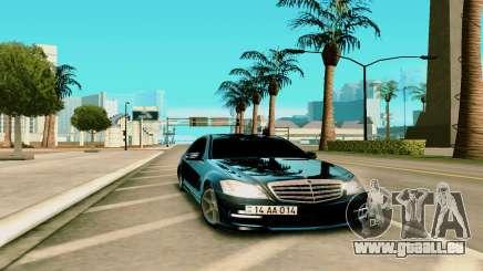 Mersedes-Benz S-class W221 für GTA San Andreas