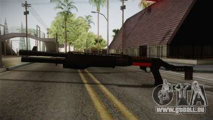 Remington 870 Silver für GTA San Andreas