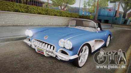 Chevrolet Corvette C1 1959 pour GTA San Andreas