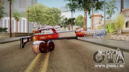 Vindi Xmas Weapon 5 für GTA San Andreas