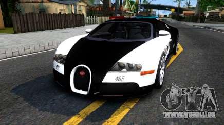 Bugatti Veyron NFS HP Police pour GTA San Andreas