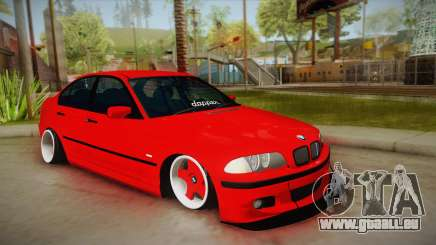 BMW M3 E46 Stance pour GTA San Andreas
