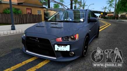 Mitsubishi Lancer X Evolution pour GTA San Andreas