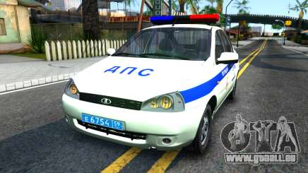 Lada Kalina ДПС für GTA San Andreas