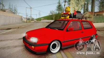 Volkswagen Golf 3 Stance für GTA San Andreas