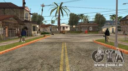 Die Verteidiger der Grove ST für GTA San Andreas