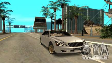 Maybach pour GTA San Andreas